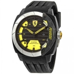 Ferrari Aerodinamico Carbon Fiber Dial Men's Watch 830204