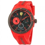 Ferrari Rev-T Black Dial Men's Multifunction Watch 830258