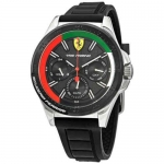 Ferrari Yas Marina Quartz Black Dial Men's Watch 870016