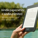 Kindle Paperwhite – Now Waterproof with 2x the Storage – Includes Special Offers + Kindle Unlimited (with auto-renewal)