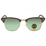 Ray-Ban Clubmaster Tortoise Arista 51mm Sunglasses RB3016 W0366 51-21