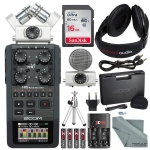 Zoom H6 Six-Track Portable Recorder with Interchangeable Microphone System