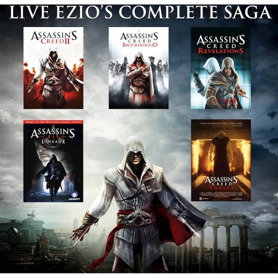 Deal Dash Com Tvs >> Assassin's Creed The Ezio Collection – Xbox One – OnnSale